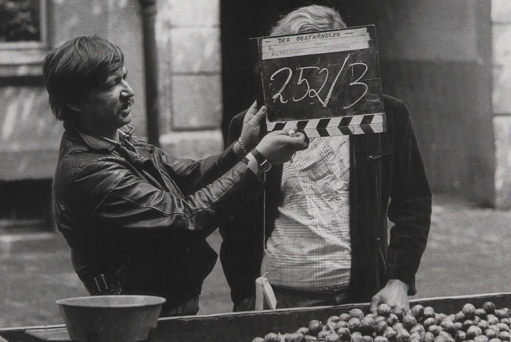 Fassbinder shooting The Merchant of the Four Seasons (1972)