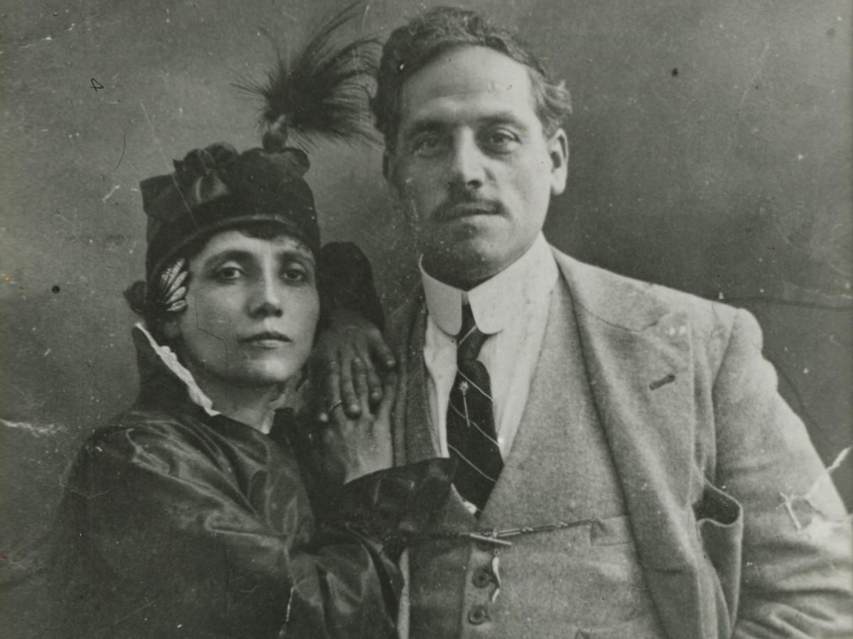 Elvira Notari und ihr Ehemann Nicola Notari (Foto: Cineteca di Bologna)