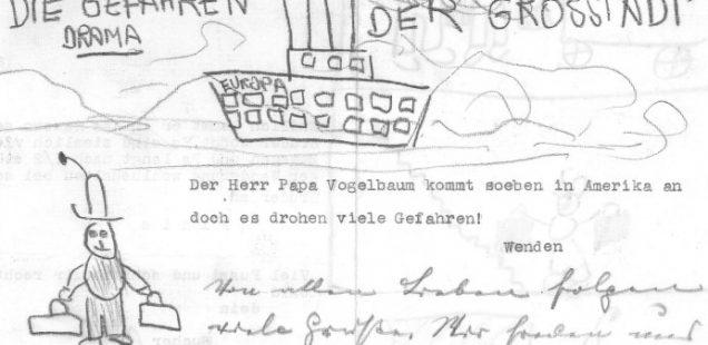 Die Gefahren der Grosstadt / The dangers of the big city